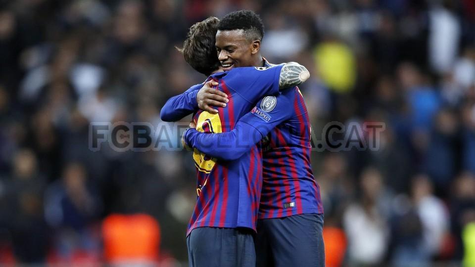 صور مباراة : توتنهام - برشلونة 2-4 ( 03-10-2018 )  100648194