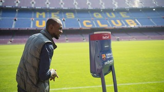 FC Barcelona Foundation sets up activity, included in the innovation strategy program, in collaboration with Eric Abidal Foundation and the AWABOT company, provider of the technology.