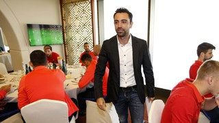 "Xavi Hernández: ""Barça look good and I think they're on the rise"""