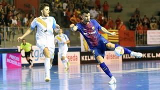 Santa Coloma 2 - FC Barcelona Lassa 3 (LNFS)