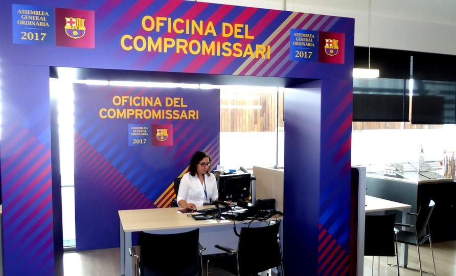 oberta l 39 oficina d 39 atenci al compromissari fc barcelona