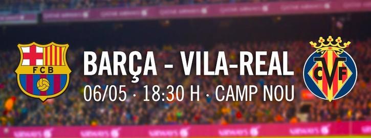 Entrades FCB - Villarreal