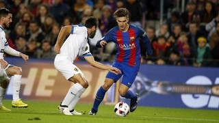 FC Barcelona 7 - Hércules 0 (3 minutos)