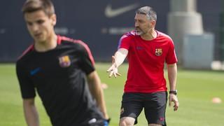 Garcia Pimienta ja dirigeix el Barça B