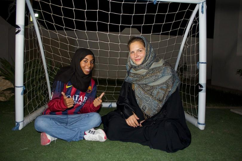 La Fundació FC Barcelona s first  FutbolNet  course for Omani girls comes  to a close this June after opening the doors to sport for a number of Omani  girls f67d86ef73eb5