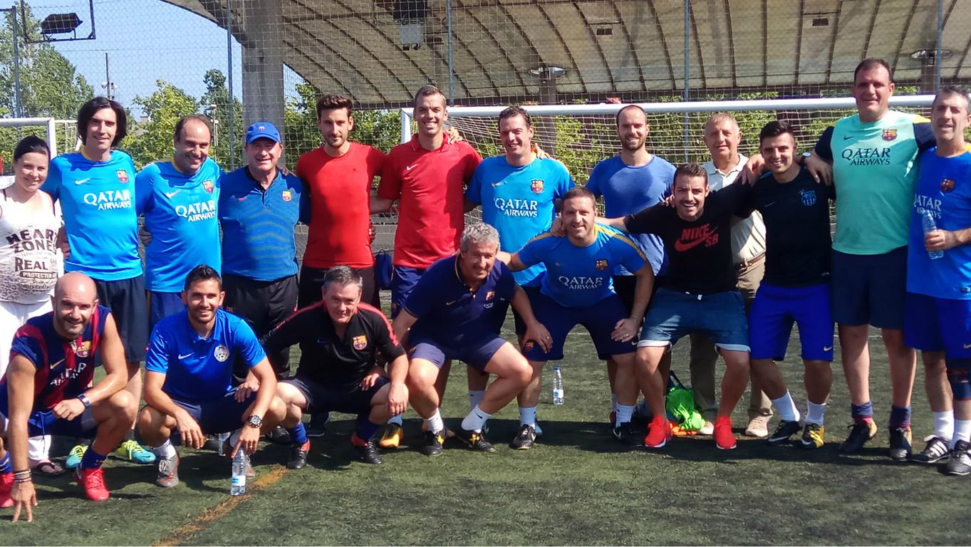 """""""El Juego del Barça"""" ha sido el curso estrella de la Agrupación en el último trimestre"""
