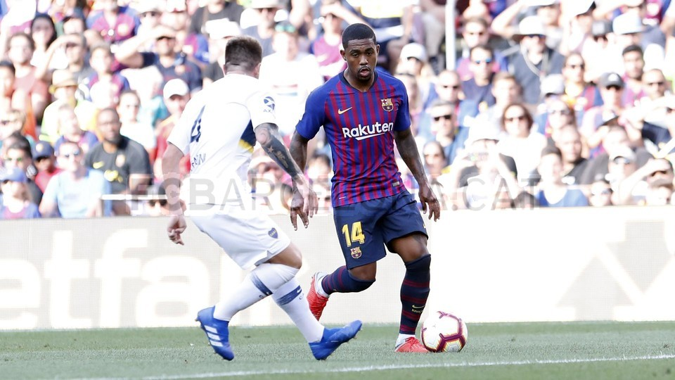 صور مباراة : برشلونة - بوكا جونيورز ( 16-08-2018 )  95974346