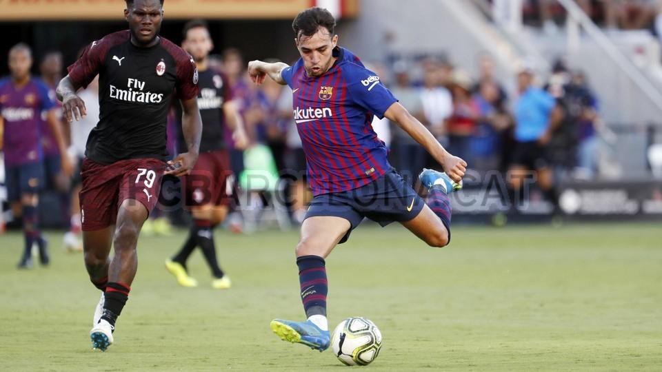 صور مباراة : برشلونة - ميلان 0-1 ( 05-08-2018 )  95385802