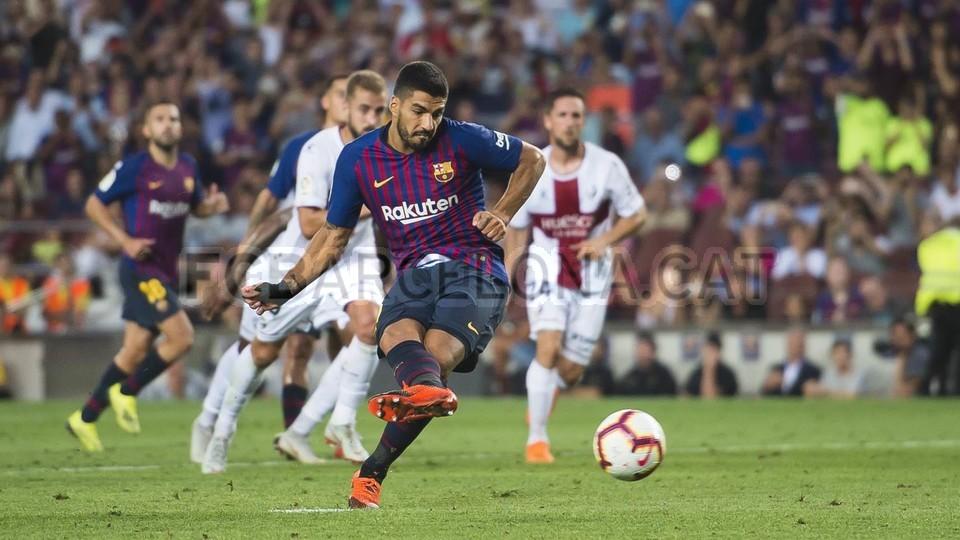 صور مباراة : برشلونة - هويسكا 8-2 ( 02-09-2018 )  97440458