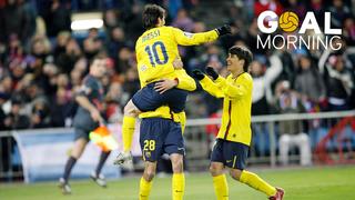GOAL MORNING!!! Bon dia de Reis! Avui fa 9 anys d'aquest gol de Messi vs l'Atlètic de Madrid