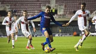FC Barcelona B  0 - Huesca 2