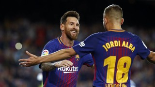 FC Barcelona 5 - RCD Espanyol 0 (1 minut)