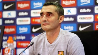 """El tècnic blaugrana ha destacat la perillositat del conjunt madrileny al contraatac i ha advertit que """"els partits a Butarque sempre són durs"""""""
