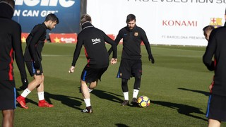 Move of the week #13: el golazo de Leo Messi en un entrenamiento