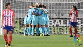 Atlético Féminas 1 - FC Barcelona 1 (Liga)