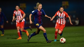 Barça Women v Atlético de Madrid: Still in second place (1-1)
