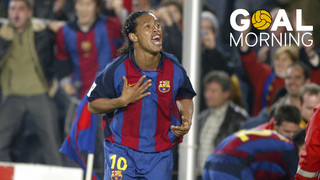 Goal Morning! Ronaldinho is 37 today. Happy birthday!