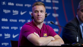 Arthur: 'I've always had the ball at my feet'