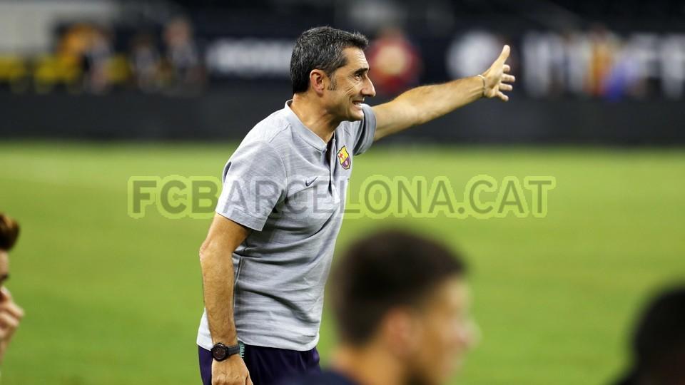 صور مباراة : برشلونة - روما 4-2 ( 01-08-2018 )  95181516