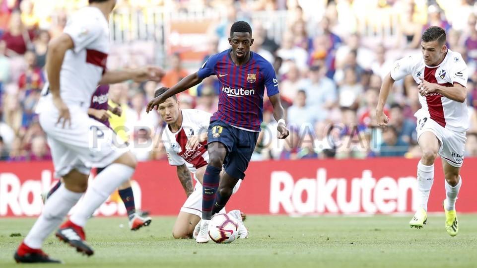 صور مباراة : برشلونة - هويسكا 8-2 ( 02-09-2018 )  97419469