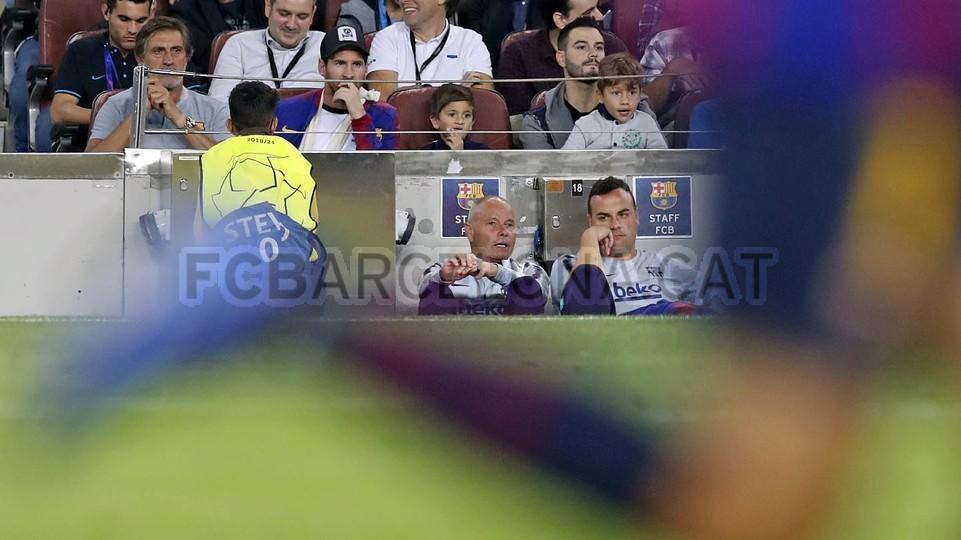 صور مباراة : برشلونة - إنتر ميلان 2-0 ( 24-10-2018 )  101552589