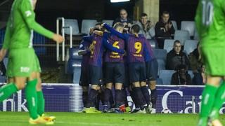 Barça B - UE Cornellà: Se reencuentran con la victoria (2-1)