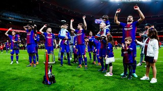 After a victory that will go down in Barça folklore came an outpouring of emotions among the players, staff and fans - and our cameras captured all the magic