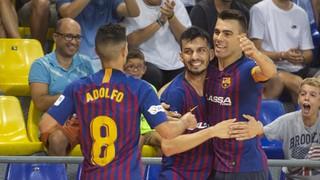 FC Barcelona Lassa - Ribera Navarra: Estrena lliguera amb victòria (6-2)