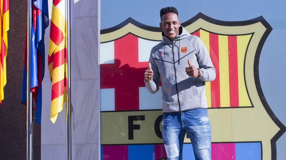 Yerry mina estar aqu es un orgullo indescriptible fc barcelona - Oficinas fc barcelona ...