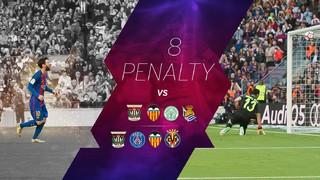 Leo Messi, letal desde el punto de penalti
