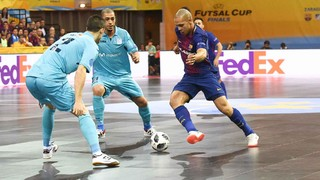 Movistar Inter 2-1 FC Barcelona Lassa: No European final
