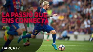 24 hores de programes 100% blaugrana.<BR><BR> La información del Barça explicada des de dins. Una televisió feta en escenaris únics i amb tots els protagonistes de l'actualitat del Club.