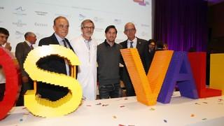 Durant l'acte s'ha anunciat l'assoliment de la captació dels 30 milions d'euros necessaris per a la construcció de l'hospital