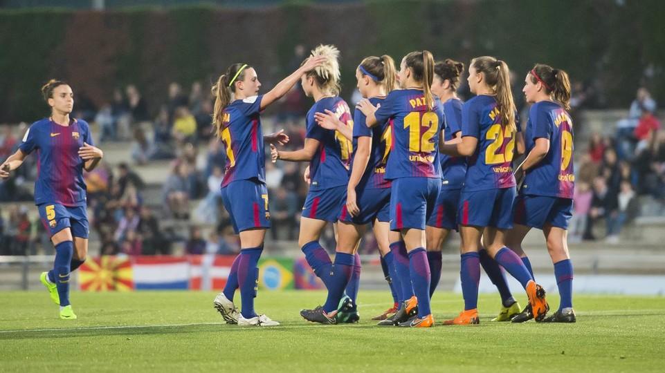 Un gol en la jornada pasada en la Ciudad Deportiva | VÍCTOR SALGADO - FCB