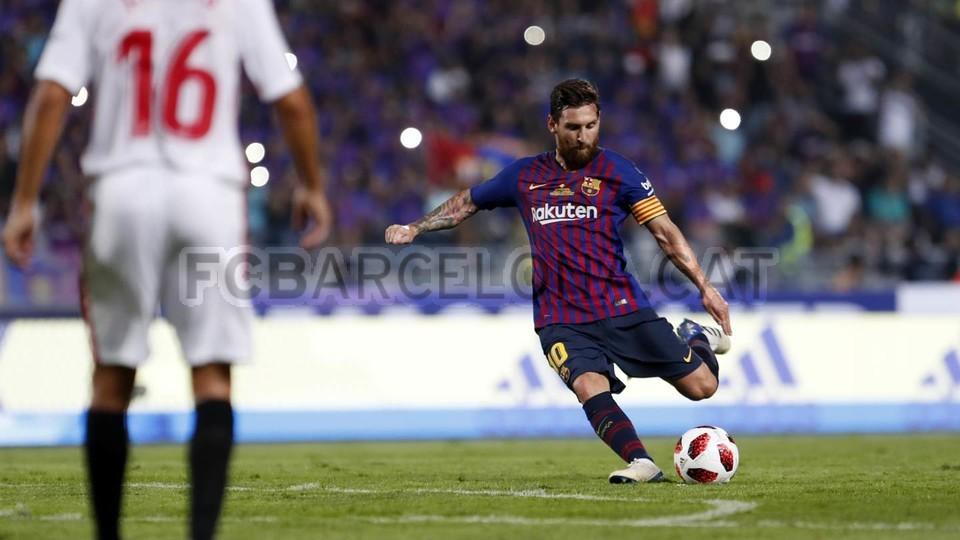 صور مباراة : برشلونة - إشبيلية 2-1 ( 13-08-2018 )  95762894