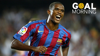 Goal Morning! Samuel Eto'o!