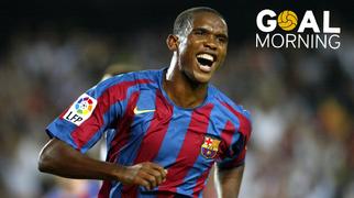 Goal Morning! Samuel Eto'o!