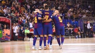 FC Barcelona Lassa 6 - Cartagena 1 (LNFS)