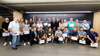 8 miembros de la Agrupación han formado parte del programa de voluntariado de la Fundación Barça desde principios de año