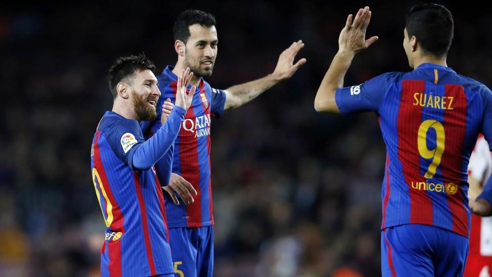 FCバルセロナ– スポルティング・...