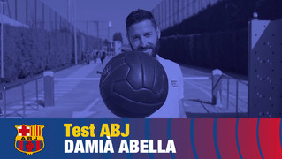 Un títol de Lliga, un clàssic i 10 partits oficials amb el primer equip són les dades que resumeixen la temporada 2004-2005 d'Abella
