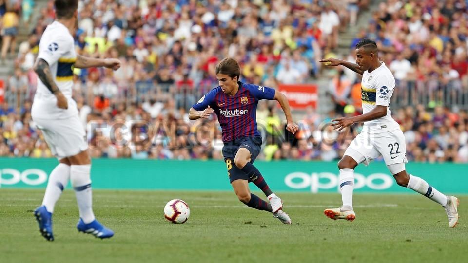 صور مباراة : برشلونة - بوكا جونيورز ( 16-08-2018 )  95975120