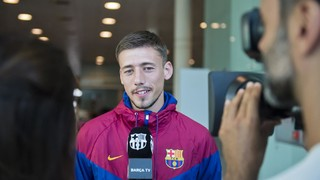 Lenglet: 'I'm proud to wear this shirt'