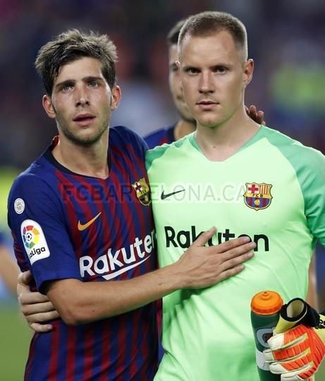 صور مباراة : برشلونة - هويسكا 8-2 ( 02-09-2018 )  97495504