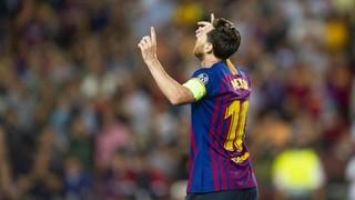 Debut en la Champions de récord para Messi: 14 temporadas seguidas marcando en la Champions, el PSV, la 30ª víctima