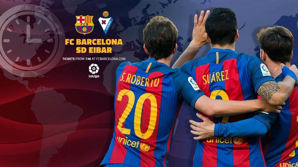 Barcelone-Eibar