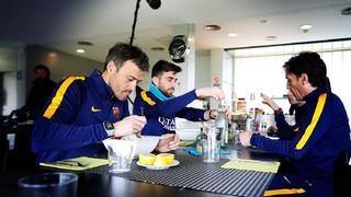 'Els homes de Lucho', així treballa l'equip tècnic del Barça