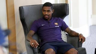 Malcom: 'I want to make history at Barça'