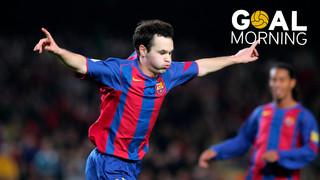 Goal Morning! Màgic Andrés Iniesta!