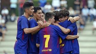 Lleida Esportiu 2 - FC Barcelona Juvenil A  4 (Liga)